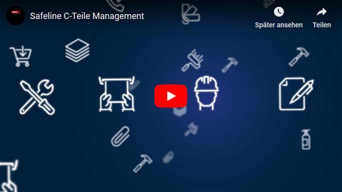 C-Teile Management Safeline Arbeitsschutz Werkzeuge Maschinen