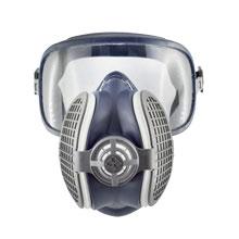 WELTNEUHEIT von GVS - leichteste Atemschutzmaske Schutzkombination mit Brille 209 gr. Einzige zugelassenene Halbmaske mit permanent befestigter Vollsichtbrille!!!