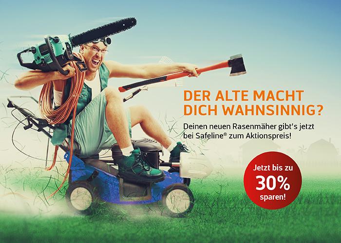 STIHL Rasenmäher Angebote Dortmund bei Safeline