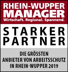 Größter Anbieter von Arbeitsschutz im Rhein Wupper