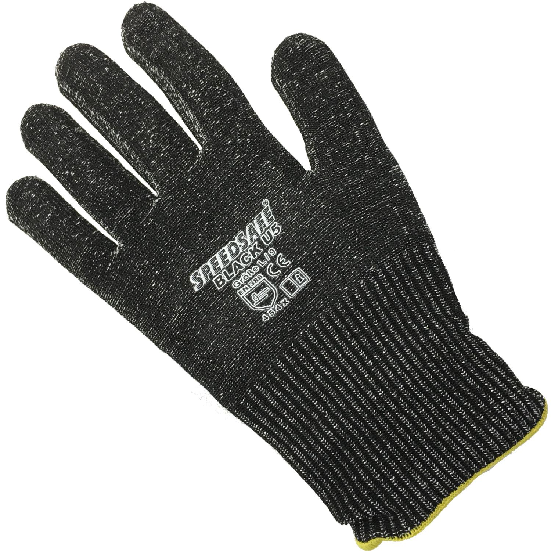 10 paar speedsafe black u5 cut 5 extrem schnittschutzhandschuh