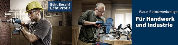 BOSCH Blaue Elektrowerkzeuge f�r Handwerk und Industrie